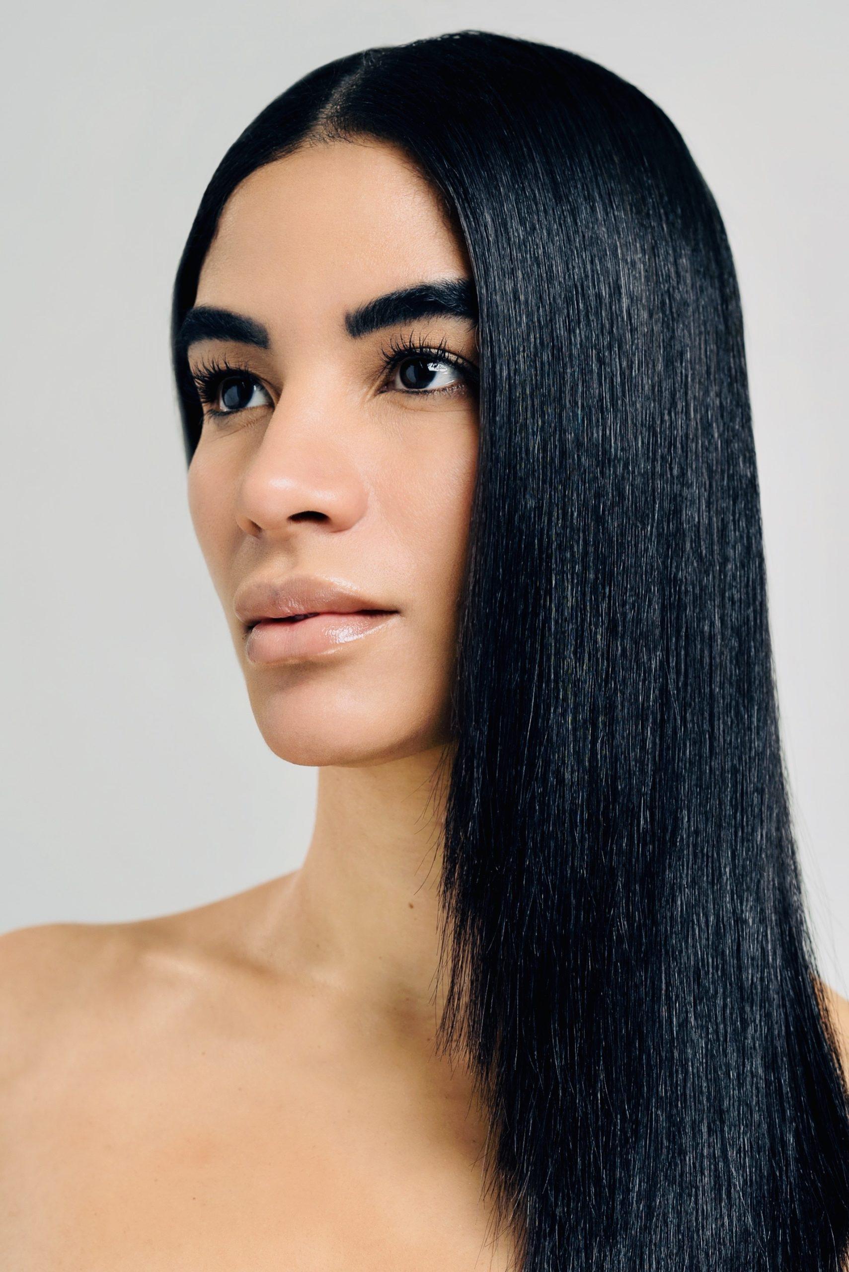 Silky Straight Hair by Liam Carey